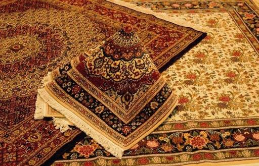 قالی دست بافت ایرانی