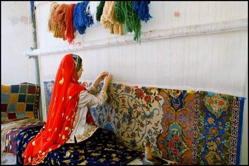 وسایل قالی بافی با دست